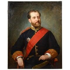 Portrait, Francisco Romero Robledo, Oil on Canvas, Suárez Llanos, Ignacio, Spain
