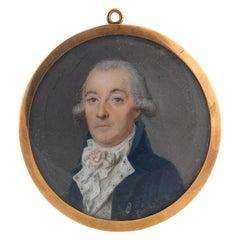 Portrait Miniature American School, circa 1805