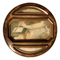 Portrait Miniature Bonbonniere Box Boit-A-Miniature