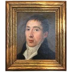 Portrait of a Gentleman Attributed to Pierre Prud'hon