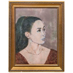 Portrait of a Lady on Copper