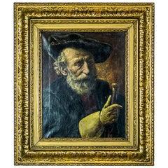 Portrait of a Man by Leon de Meuter Brunin, circa 1900-1910