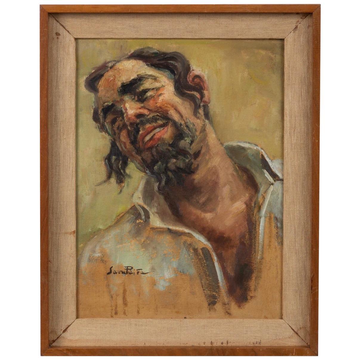Portrait of a Man by Sara Peita