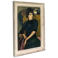 Portrait of a Yong Woman, Alfred Aaron Wolmark, 1930s