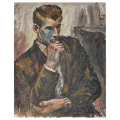 Portrait of a Young Man, Brian Vale, 1959