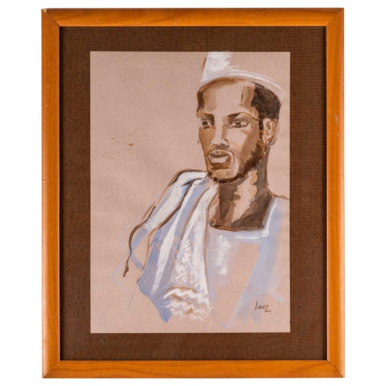 Portrait of an African, 20th Century For Sale