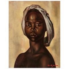 Portrait of an African Woman, Madeleine Lefebvre, Congo, 1946