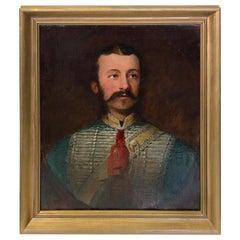 'Portrait of an Officer' by John Maclaren Barclay, circa 1865
