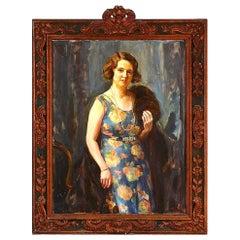 Portrait of Elga Collin by Heinrich Dohm