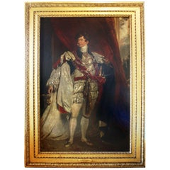Portrait of George IV Attributed to Sir Thomas Lawrence
