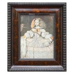 Portrait of Infant Margarita Teresa Juan Bautista Martine Del Mazo Queen, Spain