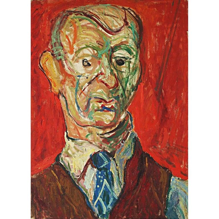 Portrait of Man For Sale