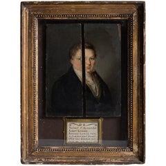 """""""Portrait of my ancestor, Robert Norman"""""""