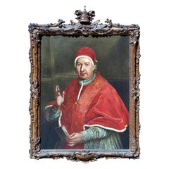 """Portrait of Pope Bonoit IV"" Italian School, 18th Century"