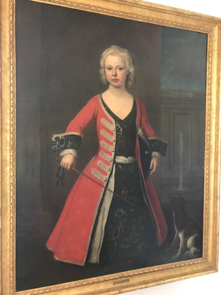English Portrait of Prince William III the Son of King George II For Sale