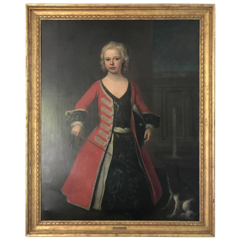 Portrait of Prince William III the Son of King George II For Sale
