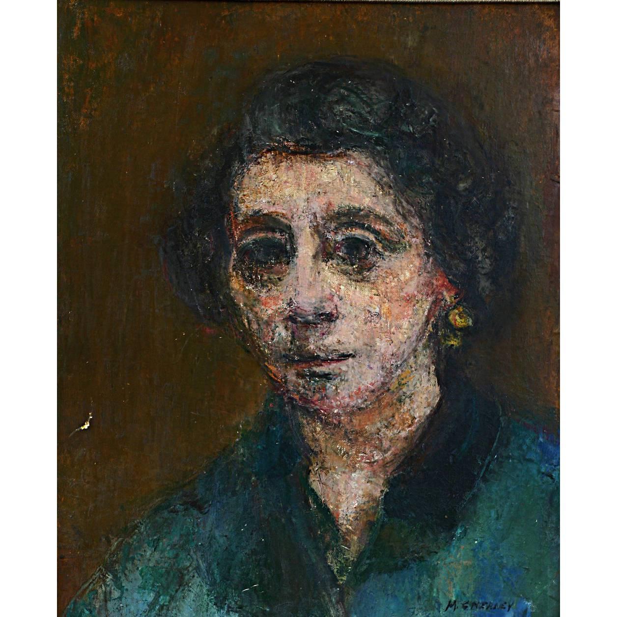 "Portrait of Ruth ""Framed"""