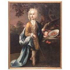 """Portrait of Sir Philip Sidney"" 17th Century Dutch Painting by Herman Verelst"