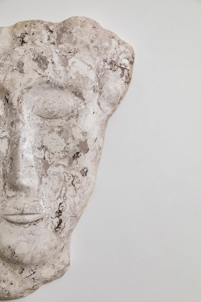Modern Portrait Wall Sculpture For Sale