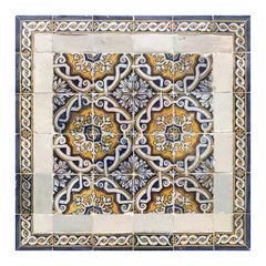 Portuguese 17th Century Pattern Tiles