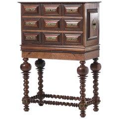 Portuguese Cabinet 19th Century Palisander Wood