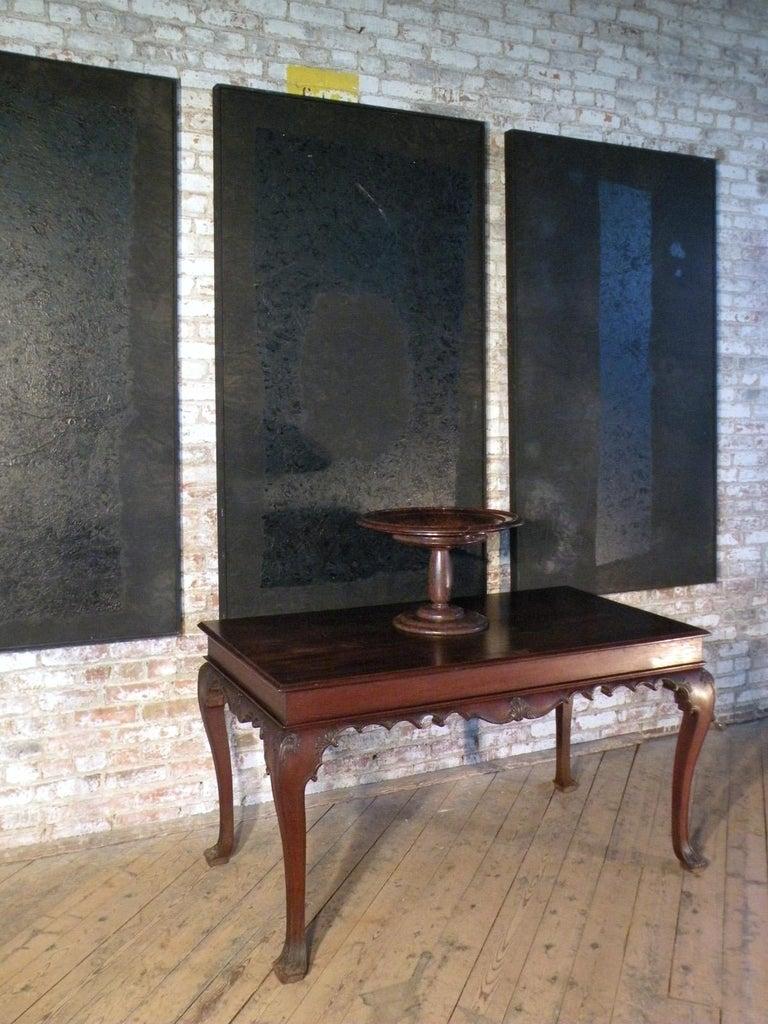 Portuguese Rococo 18th Century Mahogany Console Table / Side Table For Sale 5