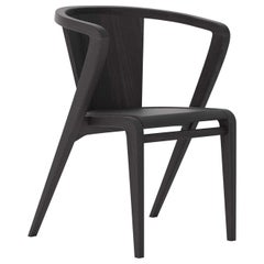 Portuguese Roots Chair in Black Pastel Ashwood by Alexandre Caldas