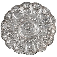 Portuguese Silver Salver, circa 1700