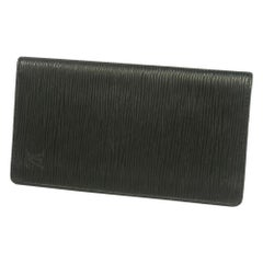 poruto Cult Credit  wallet  Mens  wallet M63212  noir( black) Leather