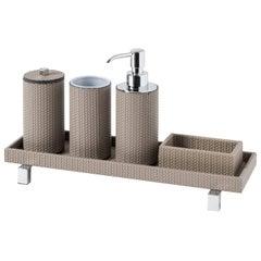 Poseidon Round Bathroom Set