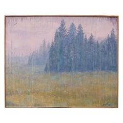 Post-Impressionist Adirondack Landscape by Jay Stewart