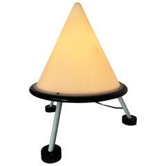 Postmodern Acrylic Geometric Cone Table Lamp
