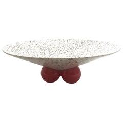 Postmodern Ceramic Centerpiece Bowl by Jaru