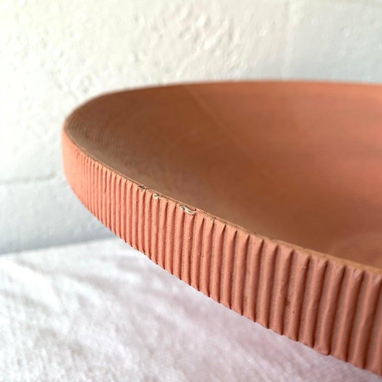 20th Century Postmodern Corrugated Cardboard Bowl or Vessel For Sale