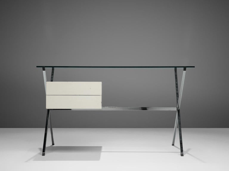 Mid-Century Modern Post Modern Franco Albini Desk for Knoll For Sale