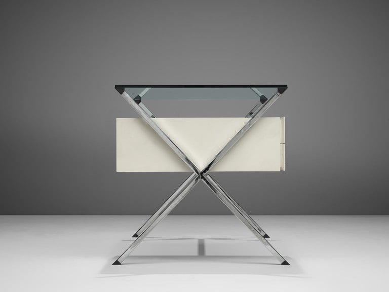 Italian Post Modern Franco Albini Desk for Knoll For Sale