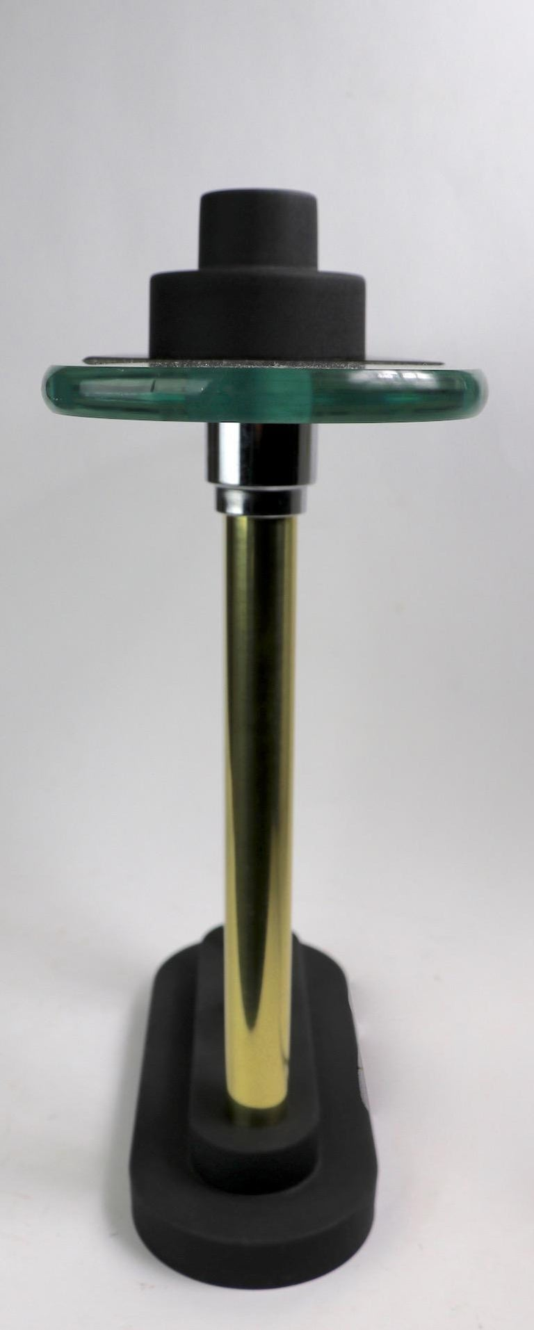 Post Modern Halogen Desk Lamp by Sonneman for Kovacs For Sale 7