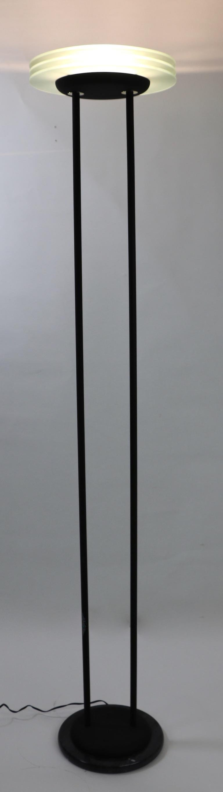 Postmodern Halogen Floor Lamp Torchiere For Sale At 1stdibs