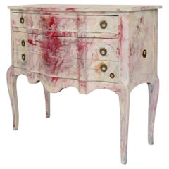 Postmodern Hand Painted Contemporary Chest of Drawers