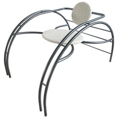 Postmodern Les Amisca Quebec 69 Spider Chair