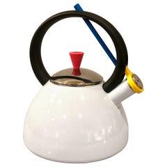 Postmodern Memphis Design Rare Tea Kettle by Copco