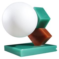 Memphis Milano Style Wall or Table Lamp, 1980