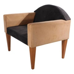 Post Modern Memphis Style Club Lounge Chair by Bernhardt