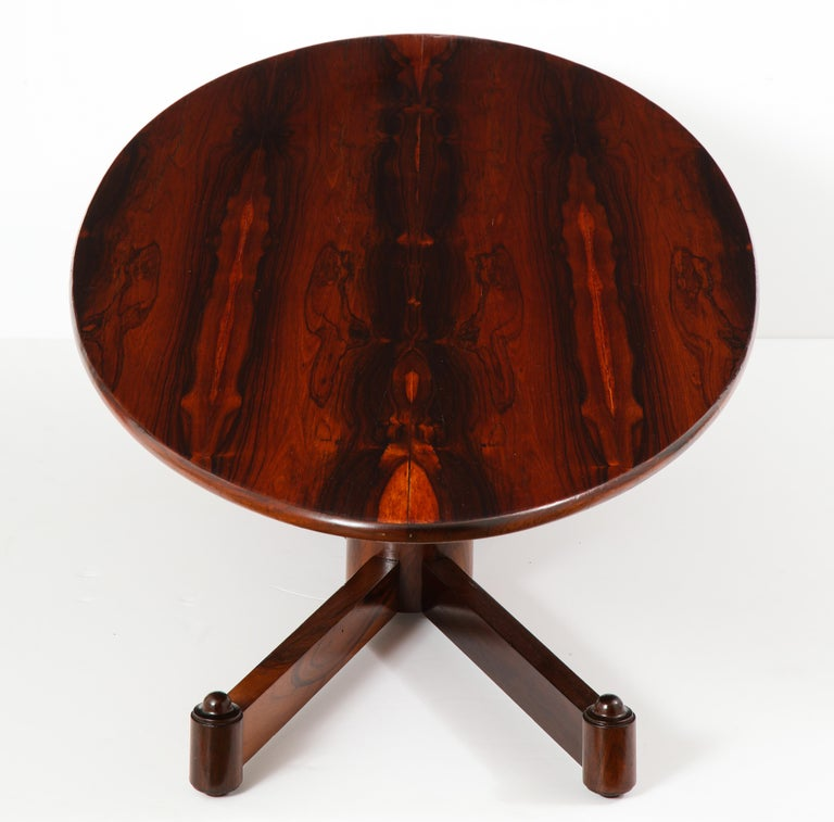 Brazilian Mid-Century Modern Oval Coffee Table, 1950s For Sale 7
