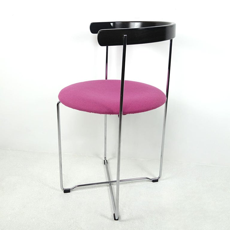 Icelandic Post-Modern Pair of Sóley Folding Chairs by Valdimar Hardarson for Kusch+Co. For Sale