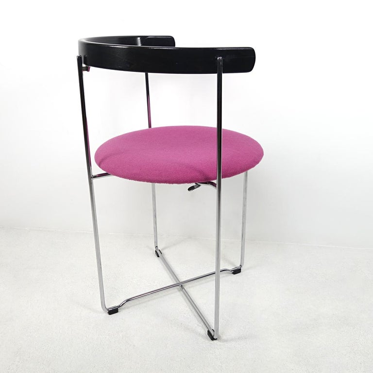 Post-Modern Pair of Sóley Folding Chairs by Valdimar Hardarson for Kusch+Co. For Sale 1