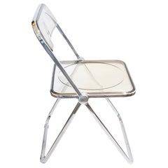 "Postmodern ""Plia"" Chair Designed by Giancarlo Piretti for Castelli"