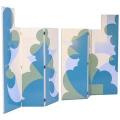 Post-modern Room Dividers by Giacomo Balla for Gavina, 1970s