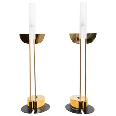 Postmodern Table Lamps Italy 1980s Attributed Giorgetti