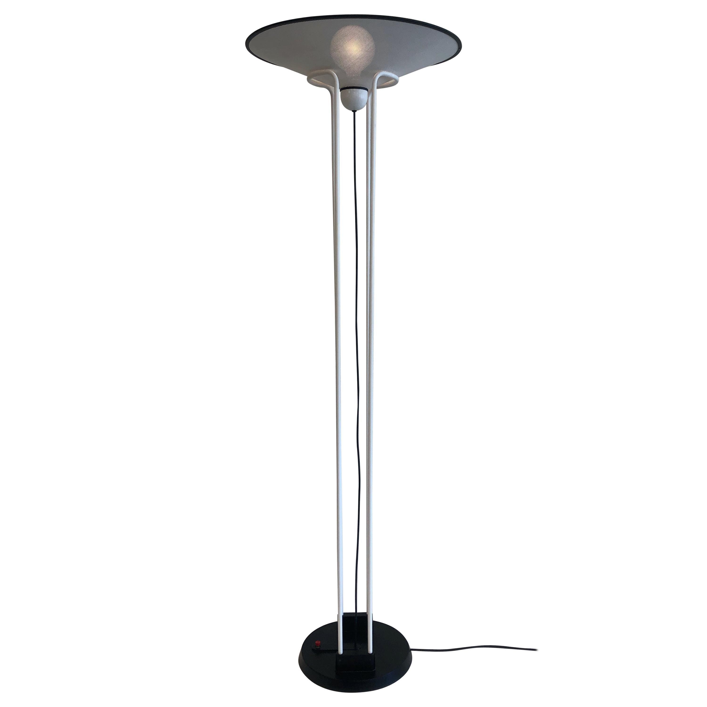 Postmodern Torchiere Floor Lamp by Ron Rezek